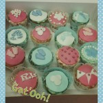 cup cakes baby shower